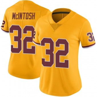 Women's JoJo McIntosh Gold Limited Color Rush Football Jersey